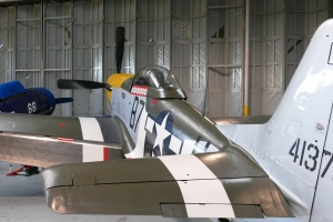 """Frankie"" in the hangar at Duxford."