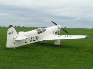 G-AEXF at Sywell in 2004