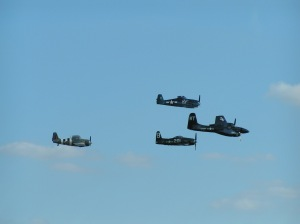 "The classic Duxford ""cats"" formation, which opened many a Duxford show in the 90s and early 00's"