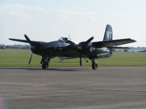 The Tigercat, for many years the leader of the cats formation as well as the Legends Balbo. The aircraft returned to America in 2007.