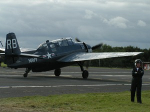 While not a Cat the Grumman Avenger was often seen tagged on to the cats formation at Duxford shows.