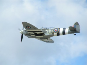 Grace Spitfire during the display.