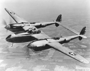 YP-38. Photo by US Air Force.