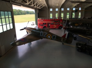 Two of the other British Birds Tom refers to, the collections Spitfire and Hurricane.