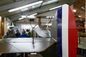 The Shuttleworth Camel is now complete and will no doubt be preparing to fly in the next couple of months.