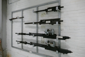An example of the machine guns and cannons used by the RAF and the Luftwaffe at the outbreak of World War 2.