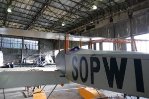 Brooklands is home to a rich range of aircraft, including this Sopwith Tabloid replica.