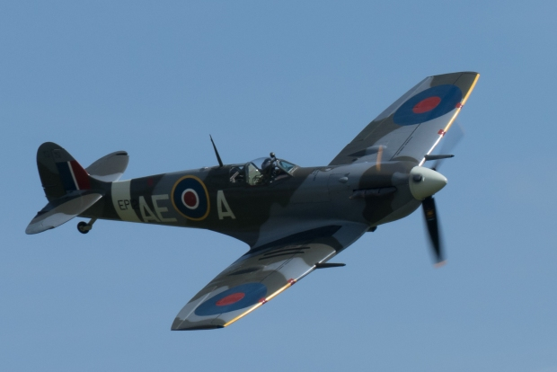 EP120 displaying at Duxford.
