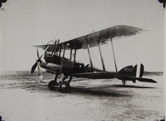 A BE12, the single seat scout variant of the BE2. - SDASM Archives.