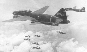 "The G4M ""Betty Bomber"".  - Japanese Govt."