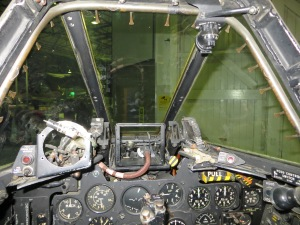 A pilots view from F8 WH301.