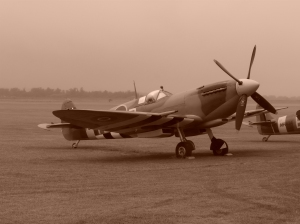PL944 on the ground at Duxford in 2009.