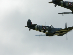 Best shot I have of PL944 in the air...Duxford 2009.