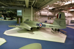 F.8 WH301 at Hendon.