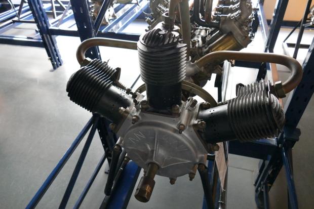 An Anzani engine.