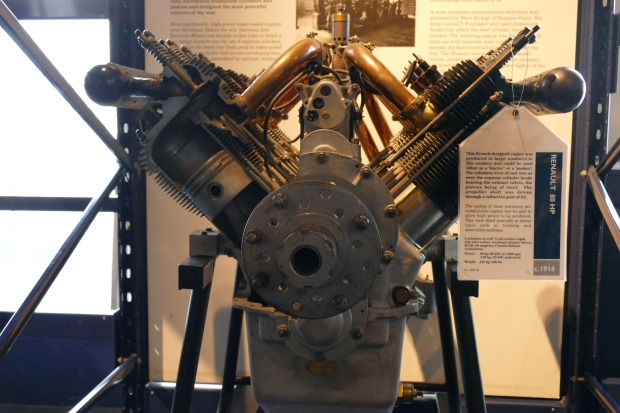 The Renault engine from which the 1A was developed.