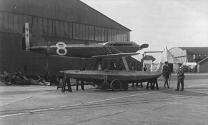 S.6a out of the water at Calshot in 1929.