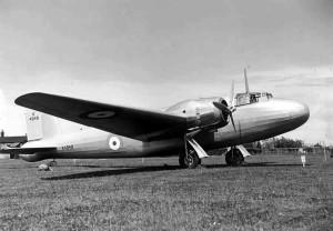 Prototype Wellington seen here at Brooklands in 1939.