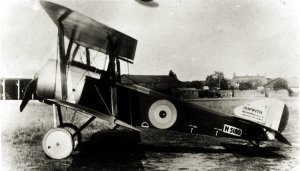 Another period  view of the Sopwith Pup.
