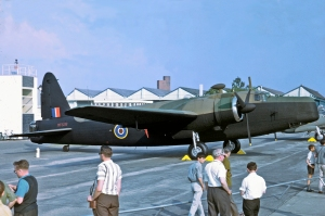 On Display at the Abingdon RAF 50th Anniversary review in 1961