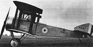 The Beardmore W.B.III or Folding Pup.