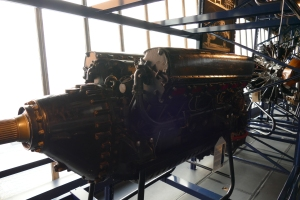 The Rolls-Royce R engine, seen here on display at the Science Museum.
