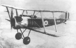 Sopwith Pup captured flying in 1917.