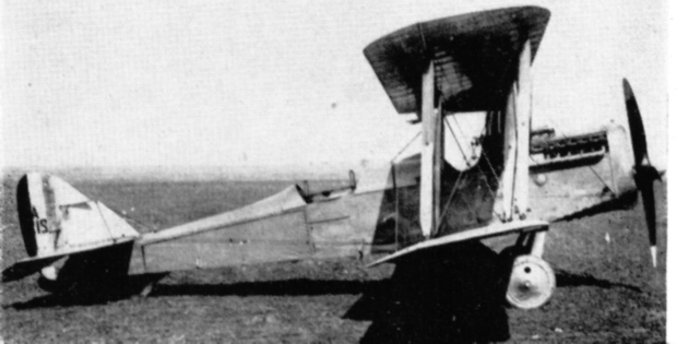 A period shot of a DH4.