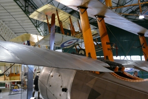 One of only two remaining original Triplanes on display at Hendon.