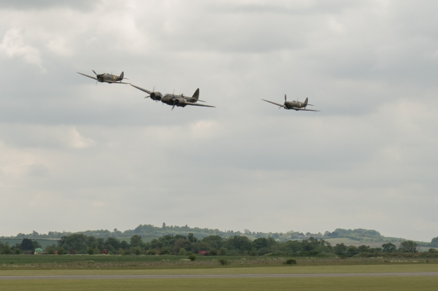 Blenheim and spitfires 2