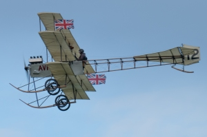 The Avro Triplane during its extended display.