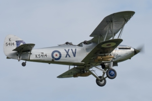 The Collection's Hawker Hind.