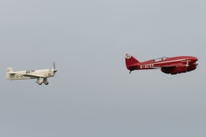 The Comet and Mew Gull pairing were another impressive formation.