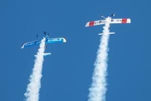 Always an entertaining display with plenty of fast formation aerobatics.