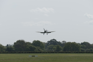 Short finals over Headcorn.