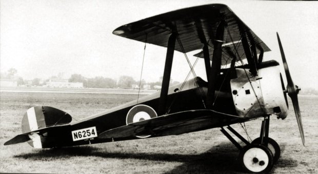 A Camel F.1 during the war.