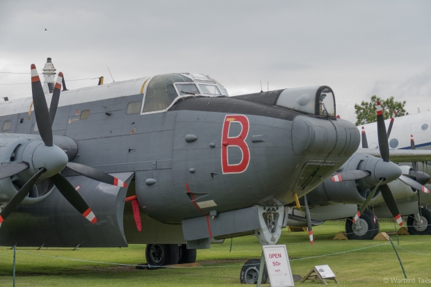 The museum is home to a number of interesting exhibits, such as this Avro Shackleton.