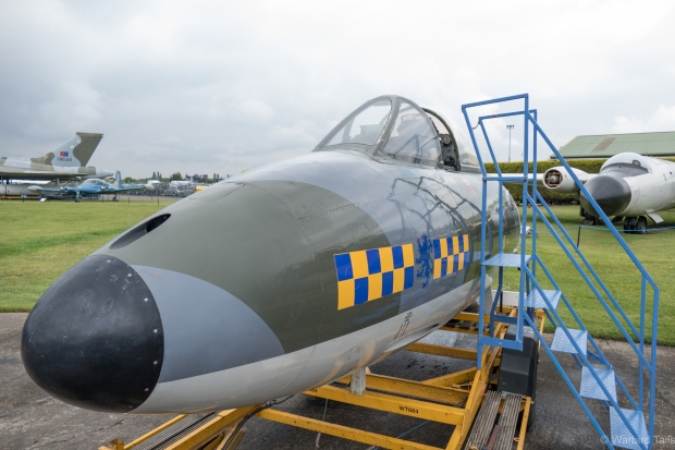 Another cockpit on display was this Hawker Hunter.