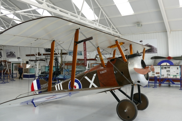 A wider look at the Shuttleworth replica.
