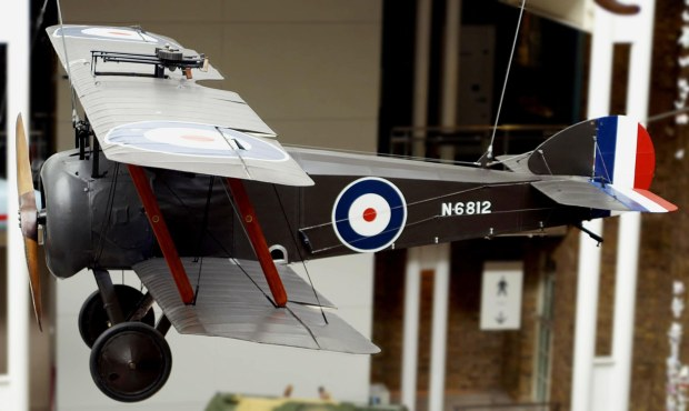 Camel 2F.1 on display at the Imperial War Museum.