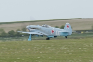 Richard Grace gets airborne in the Yak-3.