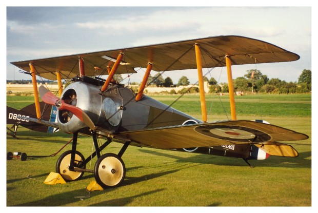 The Camel performed at one Old Warden display in 1993 while registered as G-ASOP.