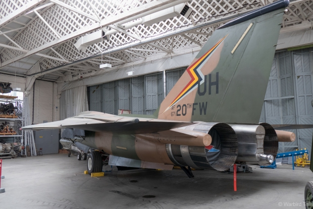 ....While the F-111 has taken up residence in Hangar 5 North.