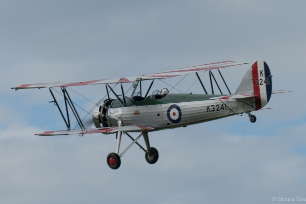 The Avro Tutor always looks great in the sun, this show was no exception.