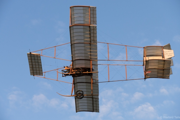 The Edwardian aircraft were, of course a central part of the airshow.