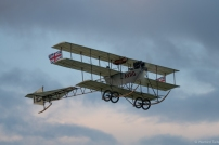 The Avro Triplane brought things to a close as the light started to fade,