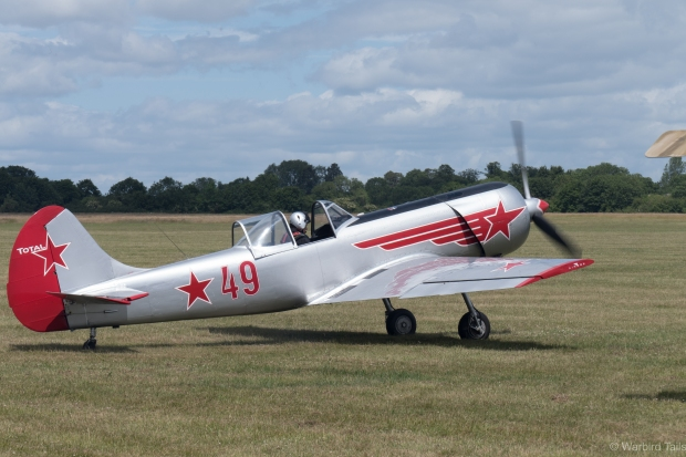 The Yak 50 started off the flying display.