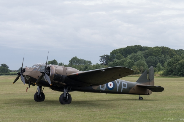 Soon enough it was time for the Blenheim to take to the skies.