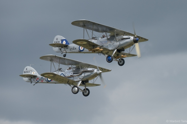 The Hawker pair were displayed in their usual beautiful fashion.