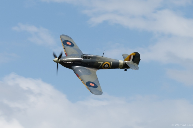 The Sea Hurricane joined the Seafire for a rare routine.